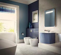 Salle de bains design aux formes arrondies