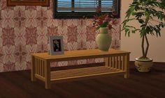 Mod The Sims - Slatted Coffee Table