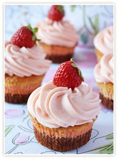 Chocolate-Strawberry-Champagne Cupcakes or three layered cupcakes