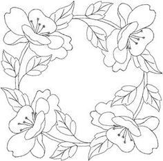 Grand Sewing Embroidery Designs At Home Ideas. Beauteous Finished Sewing Embroidery Designs At Home Ideas. Brush Embroidery, Embroidery Flowers Pattern, Hand Embroidery Designs, Applique Patterns, Craft Patterns, Ribbon Embroidery, Flower Patterns, Embroidery Stitches, Quilt Patterns