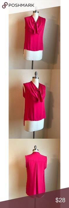 ‼️SALE‼️❤️BCBG Sleeveless Blouse❤️ Excellent condition. Size small. No rips, stains or tears. BCBGMaxAzria Tops Tank Tops