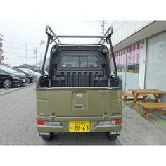 ハードカーゴ 軽トラック キャリア ルーフラック ハイゼット デッキバン S321W S331W|samuraipick|01