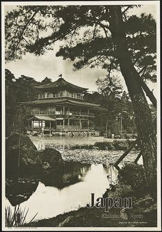 Japan. Kinkaku-ji, Kyoto by Boston Public Library, via Flickr