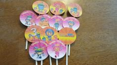 umizoomi cupcake toppers