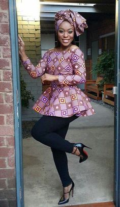 Ankara Xclusive: Hot Ankara Peplum and Classical Ankara Styles 2018 Ankara Peplum Tops Trending Today, t he most trendy and Classic And Beautiful Ankara Styles collections Of these classy and hot Ankara. African Fashion Designers, African Fashion Ankara, African Inspired Fashion, Latest African Fashion Dresses, African Dresses For Women, African Print Dresses, African Print Fashion, Africa Fashion, African Attire