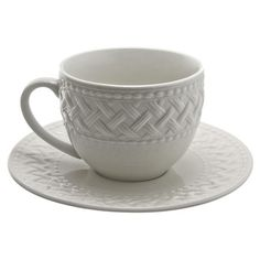 I pinned this Chelsea Teacup & Saucer from the Afternoon Tea event at Joss and Main!