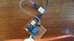 ESP8266-12E DHT Thermostat with nice display. interesting for source code