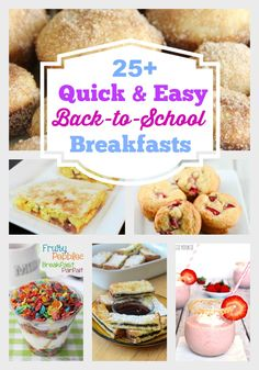 Quick and Easy Back to School Breakfast Ideas