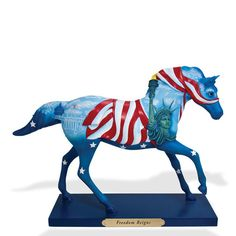 Enesco Trail of Painted Ponies Freedom Reigns Horse Figurine Statue