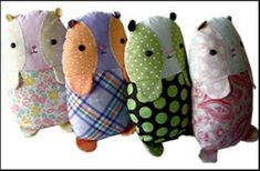 Download Lenny the Guinea Pig - 9 inch Sewing Pattern | Crafts Downloadable Sewing Patterns | YouCanMakeThis.com