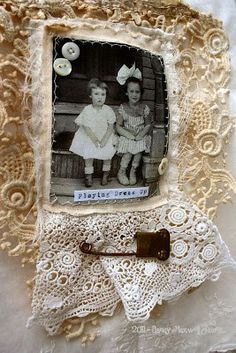 School Altered Cabinet Card Sweet Altered Baby Dress Sweet old photo Tin Type Altered Box Cigar box details I love seeing all the vintage pretties when visiting art friends blogs...the work is always so inspiring. I decided to spend some creative time using old items that I had. There is something