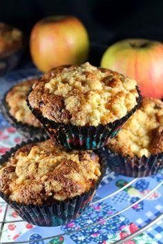 Expériences Gourmandes: Muffins aux pommes façon crumble