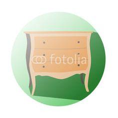 Furniture icon supermaket #button #fotolia #design #concept #tool #cart #shop #online #services #icon #vector #business
