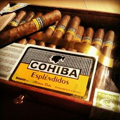 Cohiba Esplenidos, available in India at www.cigarclubindia.com - the ideal destination for cigars - india