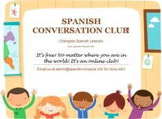 Spanish Conversation Club (Google+ Hangout) Join us!  Club de conversación en español (Google+ Hangout) ¡Apúntate!