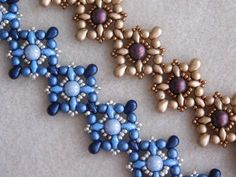 Beaded Bracelet Tutorial Beading Pattern Tarah by poetryinbeads