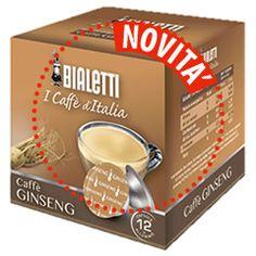 12 CAPSULE BIALETTI I CAFFÈ D'ITALIA CAFFÈ GINSENG