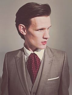 Matt Smith - Took some clothing advice from Martin Freeman today instead of Benedict Cumberbatch :P