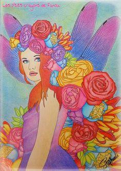 """Livre : Hachette Art & Thérapie """"Fleurs"""""""