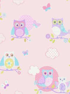 Isabelle & Max Create a stylish yet playful space for children to enjoy with this wallpaper roll. It ensures room is personal, fun and equally stylish. It will instantly update play spaces with a modern feel. Owl Wallpaper, Flowery Wallpaper, Colorful Wallpaper, Wallpaper Roll, Pattern Wallpaper, Wallpaper Ideas, Decoupage Vintage, Owl Background, Owl Clip Art