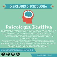 Dizionario di #Psicologia: #PsicologiaPositiva.