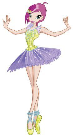 Winx Club Tecna - The Winx Club ballet