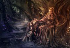 King and Prince of Mirkwood by Kinko-White.deviantart.com on @deviantART