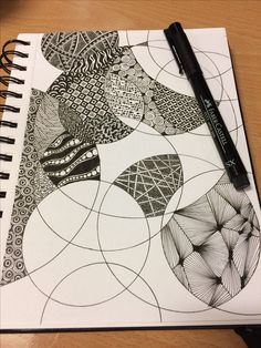 Doodle Patterns 372039619216747238 - Zentangle structuur Source by Doodle Art Drawing, Cool Art Drawings, Zentangle Drawings, Mandala Drawing, Pencil Art Drawings, Art Drawings Sketches, Mandala Doodle, Doodles Zentangles, Zen Doodle