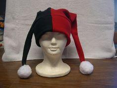 Harley Quinn Fleece Hat NEW by jolenejill on Etsy