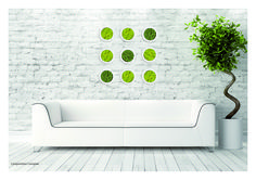 Cadres blancs INOFFICE en lichen stabilisé Catalog, White Frames, Brochures