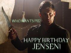 Happy birthday Jensen! (March 1st)