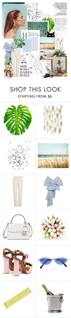 """""""wish i was the type of girl you take over to mama; the type of girl i know my daddy, he'd be proud of."""" by youarebeautifulmydarling ❤ liked on Polyvore featuring Garance Doré, Swarovski, Supersonic, St. John, Delpozo, Michael Kors, Dolce&Gabbana, Jean-Paul Gaultier, Match and vintage"""