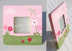 Ladybugs And Dragonflies Frame