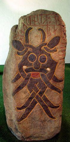 Mask runestone from Aarhus