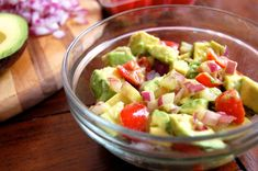 Make tonight's dinner a fiesta with these 5 inspired Mexican Paleo recipes! We kept the taste and swapped the ingredients to make them Paleo-friendly. Guacamole Salad, Fresh Guacamole, Avocado Salad, Mexican Dishes, Mexican Food Recipes, Paleo Recipes Easy, Paleo Meals, Free Recipes, Homemade Tortillas