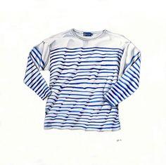 Breton Shirt = by Pip Boydell