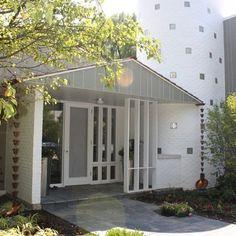 Midcentury Homes Design cool entryway