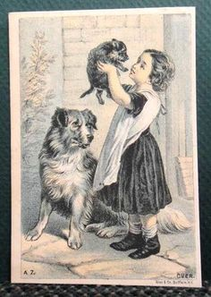 Victorian Trade Card Noble Sewing Machine Co Erie PA WS Eck Kutztown PA