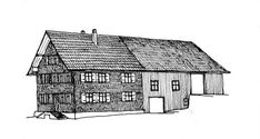 The Alpin Juwel in Saalbach-Hinterglemm is a fine example of the regional architecture inspired by the Einhof. Grain Store, Alpine House, Load Bearing Wall, Wood Shingles, Gable Roof, 2017 Design, The Gables, Modern Buildings, Building Materials