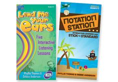 LEND ME YOUR EARS & NOTATION STATION IWBs Set - Includes the 2 CD-Roms by Phyllis Thomas & Debbie Anderson.  LEND ME YOUR EARS: Gr. K-5. CD-Rom NOTATION STATION: Interactive Learning from Stick to Standard   Grades K–5. CD-Rom