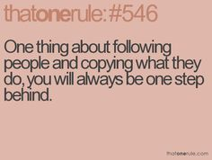 It's really rather pathetic to copy and then pretend you did it 'a while ago'. What nonsense! Go copy someone else!!