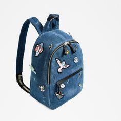 Designer Clothes, Shoes & Bags for Women Denim Backpack, Denim Tote Bags, Denim Handbags, Backpack Bags, Cute Mini Backpacks, Stylish Backpacks, Mini Mochila, Bags For Teens, Bag Pattern Free