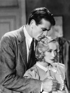 Gary Cooper and Miriam Hopkins in Design for living directed by Ernst Lubitsh, 1933