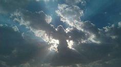 Angel Cloud In Afghanistan A U.S marine captured this cloud while serving in Afghanistan