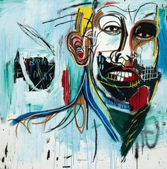 Jean-Michel Basquiat, untitled, 1982. Never seen this one before. Absolutely love it.