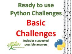A bundle of basic challenges (SUITABLE FOR KS3 AND STUDENT'S NON-EXAM ASSESSMENT (NEA) RESOURCE BANK FOR GCSE PUPILS) which allow pupils to practice the following basic skills in Python :<br /> <br /> -  basics including input and print, strings, integers...