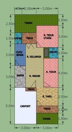 Assalaamu'alaikum wr. wb. ust andan, Saya memiliki tanah 90 m2 (6x15), untuk membangun rumah baru dengan 2 Kamar Tidur, 1 carport, ruang tamu
