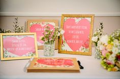 Bright Beautiful Spring Wedding Guest Book http://kategrayphotography.com/