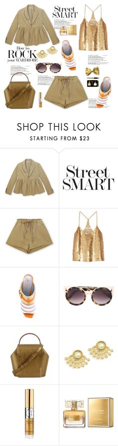 """My Mood Today"" by lidia-solymosi ❤ liked on Polyvore featuring Pierre Hardy, TIBI, Pollini, Linda Farrow, Onesixone, Yves Saint Laurent and Givenchy"