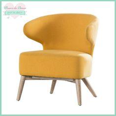 Bonito #sillón #color #mostaza de #Westwing éste y muchos modelos más en mí #blog de #decoración #MueroDeAmorPorLaDeco #ByAnaOval #DecoBlogger #DecoHome #DecoLove #CosasBonitas